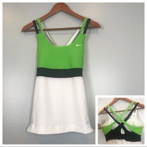 Nike Strappy Tank With Built In Bra